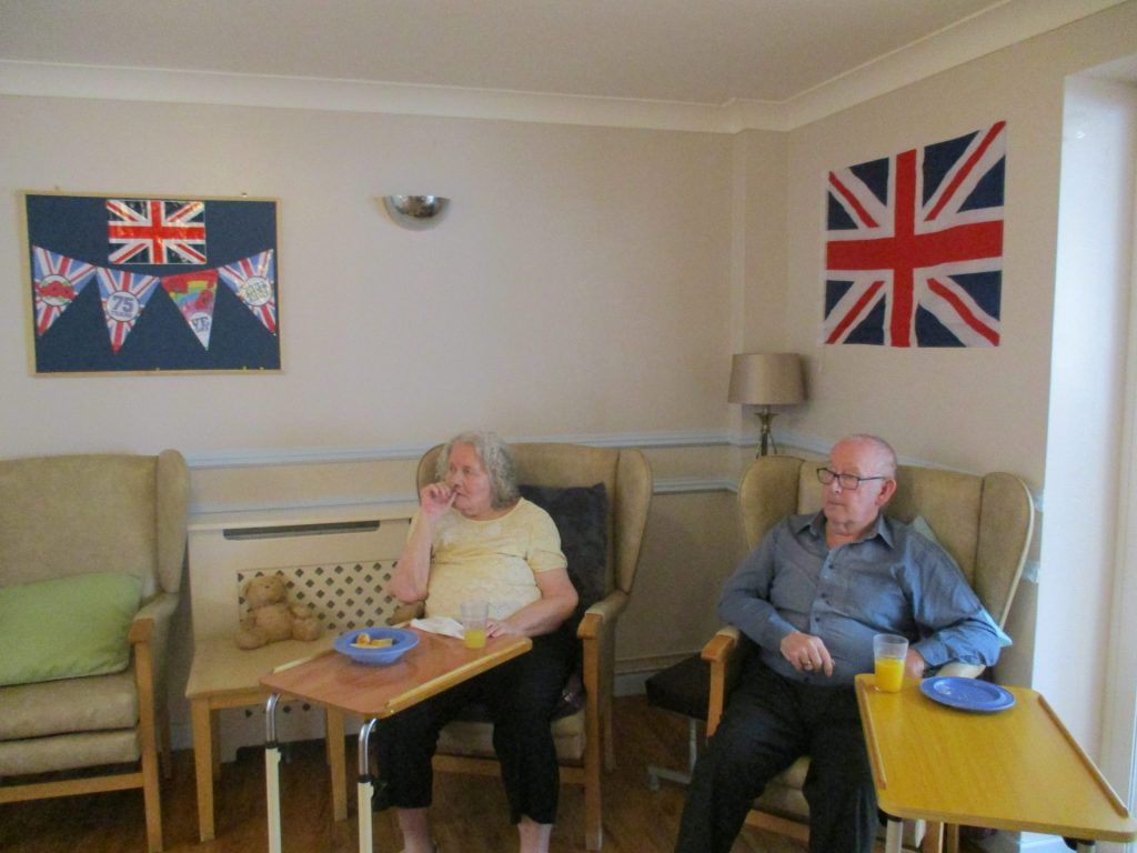 Watching VE Day 75TH Anniversary Celebrations on the TV